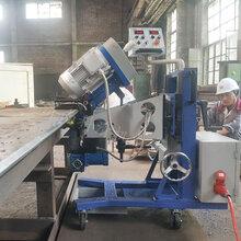 多方向自動行走鋼板銑邊機光滑面雙面銑邊機圖片