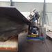 省事省心钢结构重型坡口机移动式铣边机2