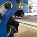 GBM型双面坡口机滚剪式咬边机加工原理