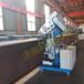 送货快不锈钢强钢平板坡口机自动铣边机2