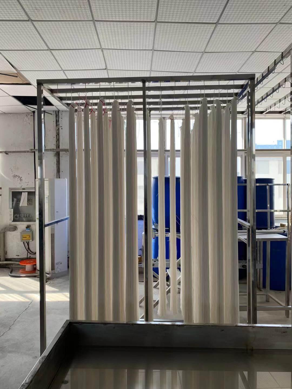 MBR膜污水过滤设备帘式膜组件-山东金源水处理设备