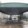 推拉棚移动大型活动仓库蓬车棚折叠安装储蓄帐篷伸缩防雨户外雨棚