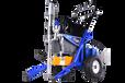油电混合三动力腻子机真正的液压柱塞机厂家直销