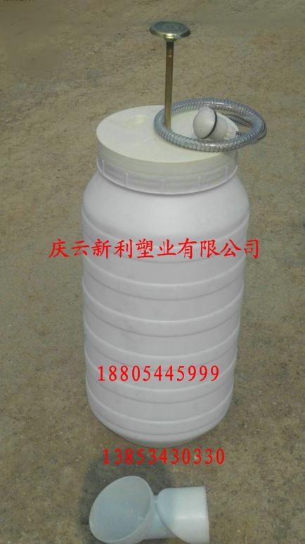 冲厕器水桶,吹塑双瓮化粪池桶,脚踏式高压冲厕器,脚踏式冲厕器桶
