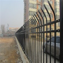 郑州单向防攀爬护栏围墙护栏质量杠杠的,量大从优规格齐全图片