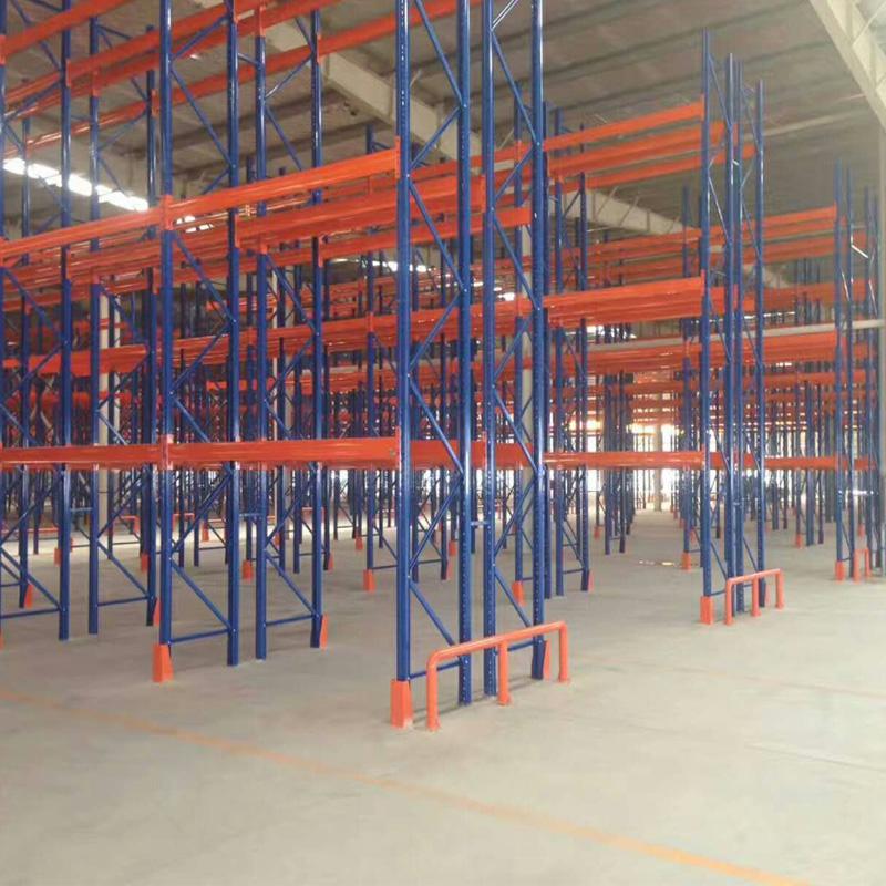 横梁货架库房仓储货架钢制托盘阁楼货架设计安装