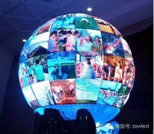 深圳大元智能球形LED显示屏,创意显示屏,室内到户外均可定制
