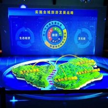 LED数字沙盘屏,GAVE沉浸式LED数字沙盘,打造立体画面,3D沙盘显示