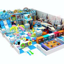 新款淘气堡游乐场室内儿童乐园游乐设备亲子乐园幼儿园滑梯厂家