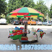 儿童游乐旋转升降飞机电动起伏飞车广场公园游玩设备飞龙旋转木马