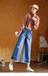 貴州六盤水批發尾貨韓版牛仔褲幾元貨源擺攤在廣州尾貨牛仔褲市場