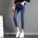 廣州批發韓版牛仔褲市場哪里有批發庫存牛仔褲貨源