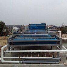 德州武城縣大型沙場壓濾機帶式淤泥濃縮壓濾機處理量圖片