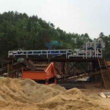 广东茂名履带式泥浆压滤机沙场泥浆压泥机处理量大图片