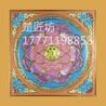 PU环保防火浮雕寺庙古建吊顶立体新配色荷花地宫佛教文化天花板