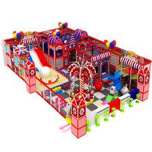 廠家定制淘氣堡百萬球池玻璃鋼滑梯兒童樂園設備