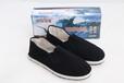 生產出售袼褙布底鞋保暖舒適黑色0538布鞋低幫千層底休閑工作鞋