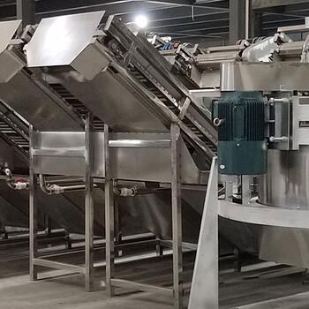 大型蒜片烘干机设备烘干蒜片加工设备果蔬加工设备蒜粒蒜粉全套设备