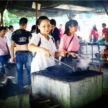 广州番禺附近的农家乐野炊烧烤农家乐