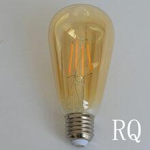 LED灯丝灯ST64爱迪生钨丝灯泡仿古灯泡装饰照明厂家直销图片
