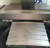 德力兴机床导轨式钢板A型防护罩---
