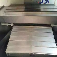 德力興機床導軌式鋼板A型防護罩---