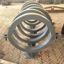 厂家定制高效隔热蛭石管托固定管托滑动导向支座图片