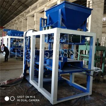 厂家直销小型4-15免烧砖机六角护坡免烧砖机全自动液压切块砖机