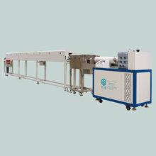 供应东莞臣泽卧式硅胶挤出生产线单色硅胶挤出生产线设备图片