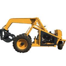 挖機屬具輪式抓木機非履帶抓蔗機抓草機