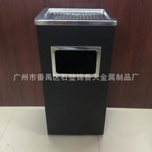 上海斜角黑条烟灰桶图片