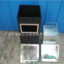 上海斜角黑条烟灰桶价格图片