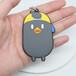 廠家供應卡通PVC鑰匙扣動物3D鑰匙配件精美包包掛件定制批發