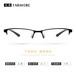 新款金屬鏡框TR90鏡腿眼鏡框架8010TR90合金商務配近視眼鏡架