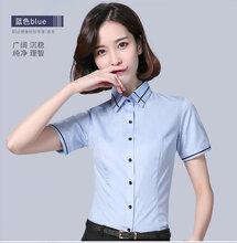 定制男女款襯衫辦公室職業裝免燙襯衫圖片