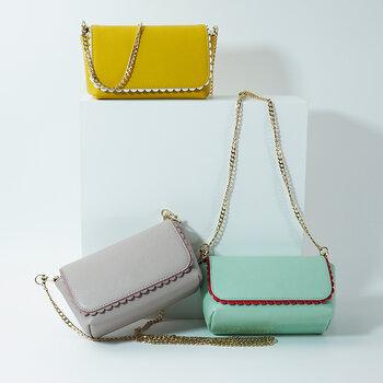 新款時尚定制女包斜挎包多功能撞色百搭斜挎包大容量小方包
