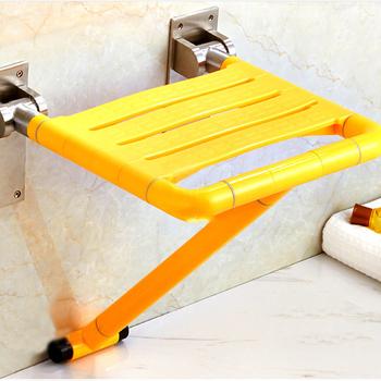 浴室折叠凳淋浴座椅墙壁挂式防滑卫生间老年人厕所老人洗澡坐凳子