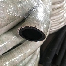 衡水主营耐温防火阻燃后背之上胶管耐高温石棉胶管水冷电缆胶管质量优图片