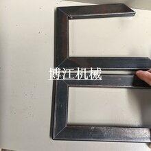 供应高质量铁方管切角度一次成型机器铁管切45度机批发液压切角机图片