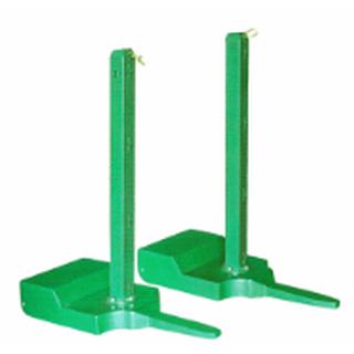 户外移动式羽毛球柱简易便携式支架移动比赛标准可配重羽毛球柱图片3