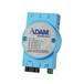 研华4+1光纤端口工业以太网交换机ADAM-6521
