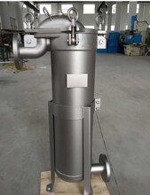江門20噸流量單袋式過濾器不銹鋼卡箍式自清洗過濾器圖片