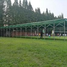 宜宾厂家直销推拉雨棚大型仓库帐棚伸缩雨棚活动雨棚图片