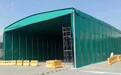 熱銷成都重慶鋼結構車棚帆布推拉蓬臨時帳篷工廠雨蓬