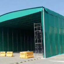 江北廠家生產鋼結構停車棚伸縮雨篷電動推拉雨篷圖片