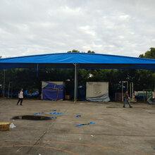 成都雙流鑫永升泰廠家批發電動推拉雨棚移動雨棚活動遮陽雨棚