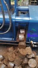 廢金屬屑餅機,廢破碎料屑餅機圖片