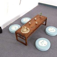 纯实木榻榻米茶台茶桌图片