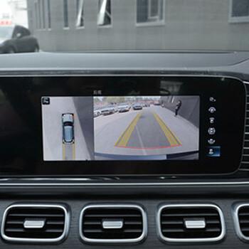 2020款奔馳GLE450改裝原廠360全景環影作業配置