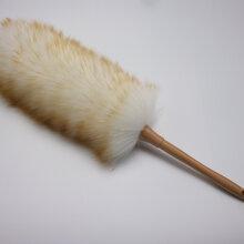 羊毛除塵撣櫸木柄羊毛撣家用雞毛撣車用塵撣有效防靜電